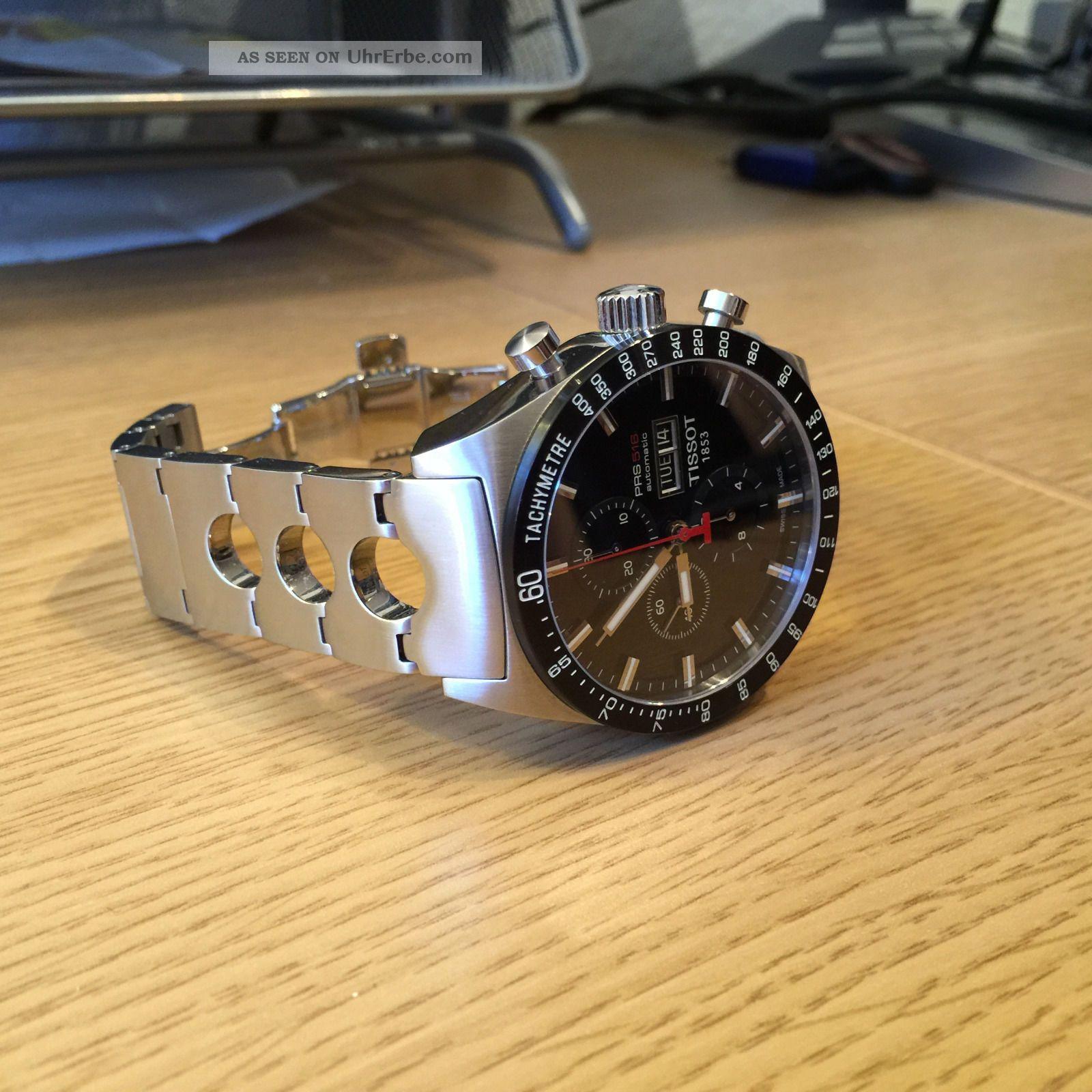Tissot Prs 516 Chronograph Automatik (top -,  Aus 2013) Armbanduhren Bild
