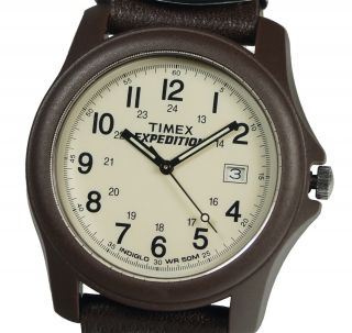 Timex Herrenuhr T49101 Analog Camper Expedition Mit Textilarmband Bild