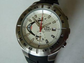 Sport Diver Taucheruhr Uhr Kraft Chronograph Bild