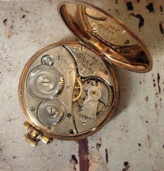 Rar Vintage Oder Antik Elgin Armband Uhr Uhr Gesicht Look Bild