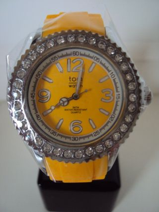 Tomwatch Crystal 40 Wa 000152 Neon Orange Uvp 49,  90€ Bild