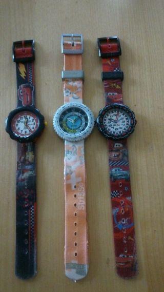 3 Flik Flak Kinder Uhren Bild