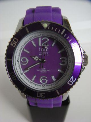 Tomwatch Basic 44 Wa 0035 Pure Violet Uvp 49,  90€ Bild