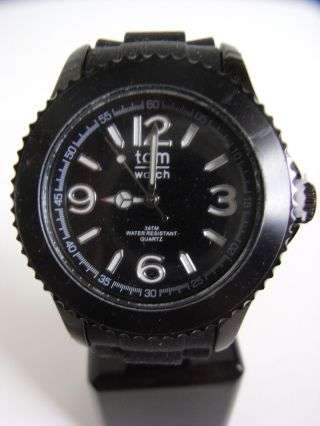Tomwatch Basic Black 44 Wa 0088 Black Uvp 49,  90€ Bild