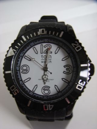 Tomwatch Basic Black 44 Wa 00110 Black Uvp 49,  90€ Bild