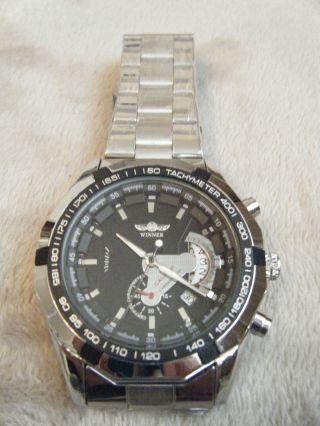 Uhr Armbanduhr Schwere Xl Automatikuhr Bild
