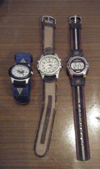 Uhr Armbanduhr Kleines Konvolut Timex Uhren Bild