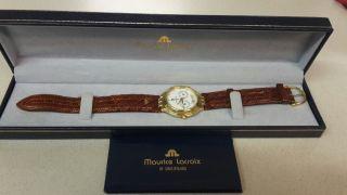 Armband Uhr Maurice Lacroix Vergoldet Bild