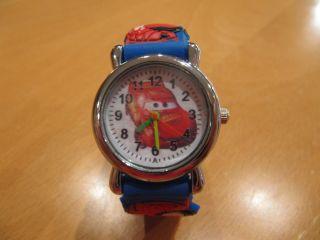 Kinder Armbanduhr Von Cars Bild