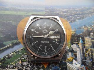 Vintage Meister Anker Deep Sea Diver Swiss Made Rar Selten Uhr Für Sammler Bild