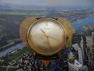 Vintage Juwel Incabloc Rar Selten Uhr 17 Jewels Für Sammler Bild
