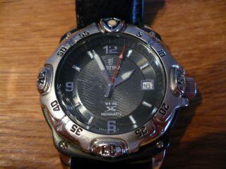 Festina 6543 Quarz - Armbanduhr Mit Mechanischer Energie Datumsanzeige Kal.  Bp10 Bild