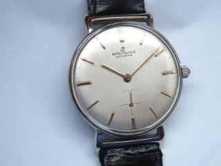 Vintage Breitling Cadette Chronometer.  Landeron 523 Bild