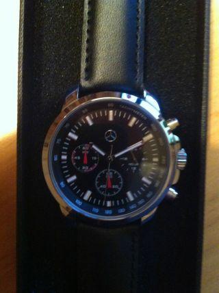 Mercedes Armbanduhr Chronograph Bild