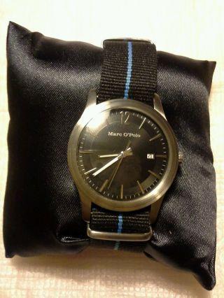 Herrenuhr Marc O Polo Geschenkbox Uhr Retrostyle Uhr Bild