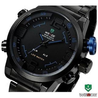 Weide Wh2309 Männer Military Sportuhr,  Led Quarz - Armbanduhr Doppel Movts Anzeige Bild