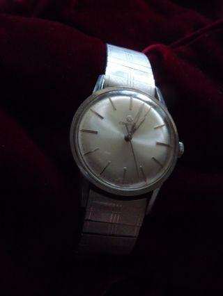 Sehr SchÖne Certina Armbanduhr Mit Handaufzug Silber Tissot Armband Damen Herren Bild