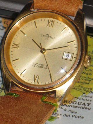 Swiss Made Uhr Mit Eta 2824 - 2 Werk.  Neuwertig,  Nos Edles Anzug Accessoire Bild