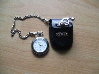 Uhr Sammlung Alte Classique Quartz Taschenuhr Mit Tasche Bild