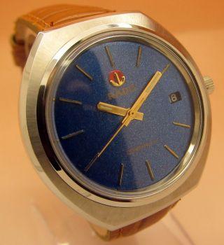 Rado Companion Glasboden Mechanische Uhr 21 Jewels Datumanzeige Lumi Zeiger Bild