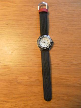 Schöne Armbanduhr Scout Schwarzes Band Neuwertig Batterie Bild