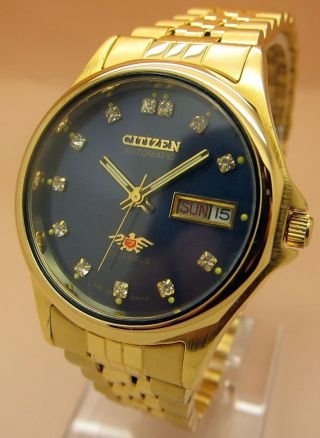 citizen uhren gold