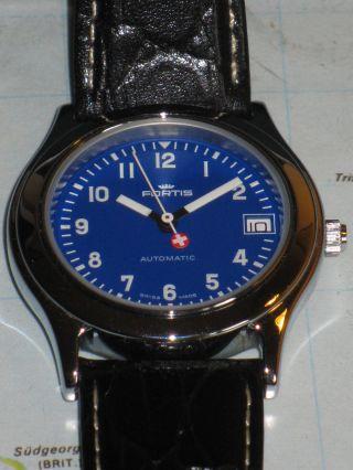Fortis Military: Seltene Swiss Made Uhr Mit Eta 2824 - 2 Werk Macht Sinn. Bild