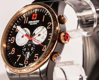 Swiss Military Hanowa Chronograph Chrono Uhr Red Star Sm12962xsbrbk.  02 Bild