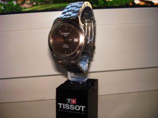 Tissot - Pr - 50 Titan Leichte Herren / Damen Sport Uhr Aufgearbeitet Top Bild