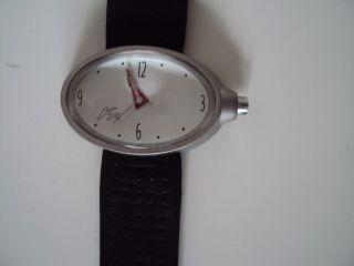 Ford Ka Sammler Uhr Mit Schwarzem Leder Sport Armband Bild