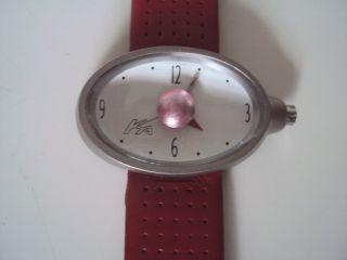 Ford Ka Sammler Uhr Mit Rotem Leder Sport Armband Bild