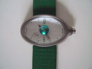 Ford Ka Sammler Uhr Mit Grünem Leder Sport Armband Bild