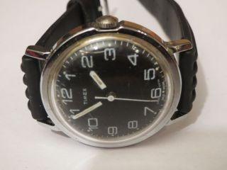 Timex Herrenuhr Handaufzug 70er Jahre Klassiker Sammlerstück Weihnachten Läuft Bild