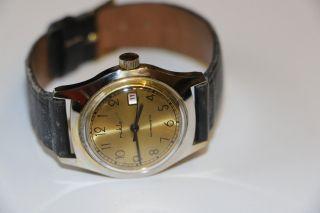 Ruhla Armbanduhr Handafzug Für Sammler Ddr Bild