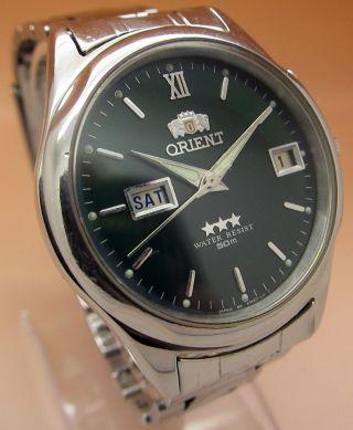 Orient Mechanische Automatik Uhr Datum & Taganzeige Bild
