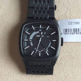 Diesel Herren Uhr - In Schwarz Edelstahl Mit Verpackung Dz1586 - Bild