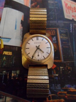 Kienzle Antimagnetic Sammleruhr Vintage Germany Bild