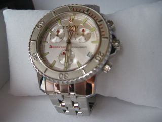 Tissot Seastar 660 Chronograph & Ovp Top Bild
