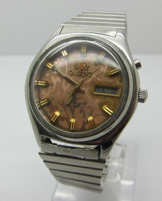 Orient Flower Automatik Herrenuhr Uhr Bild