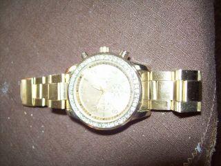 Armbanduhr Vergoldet,  Edelstahl Bild