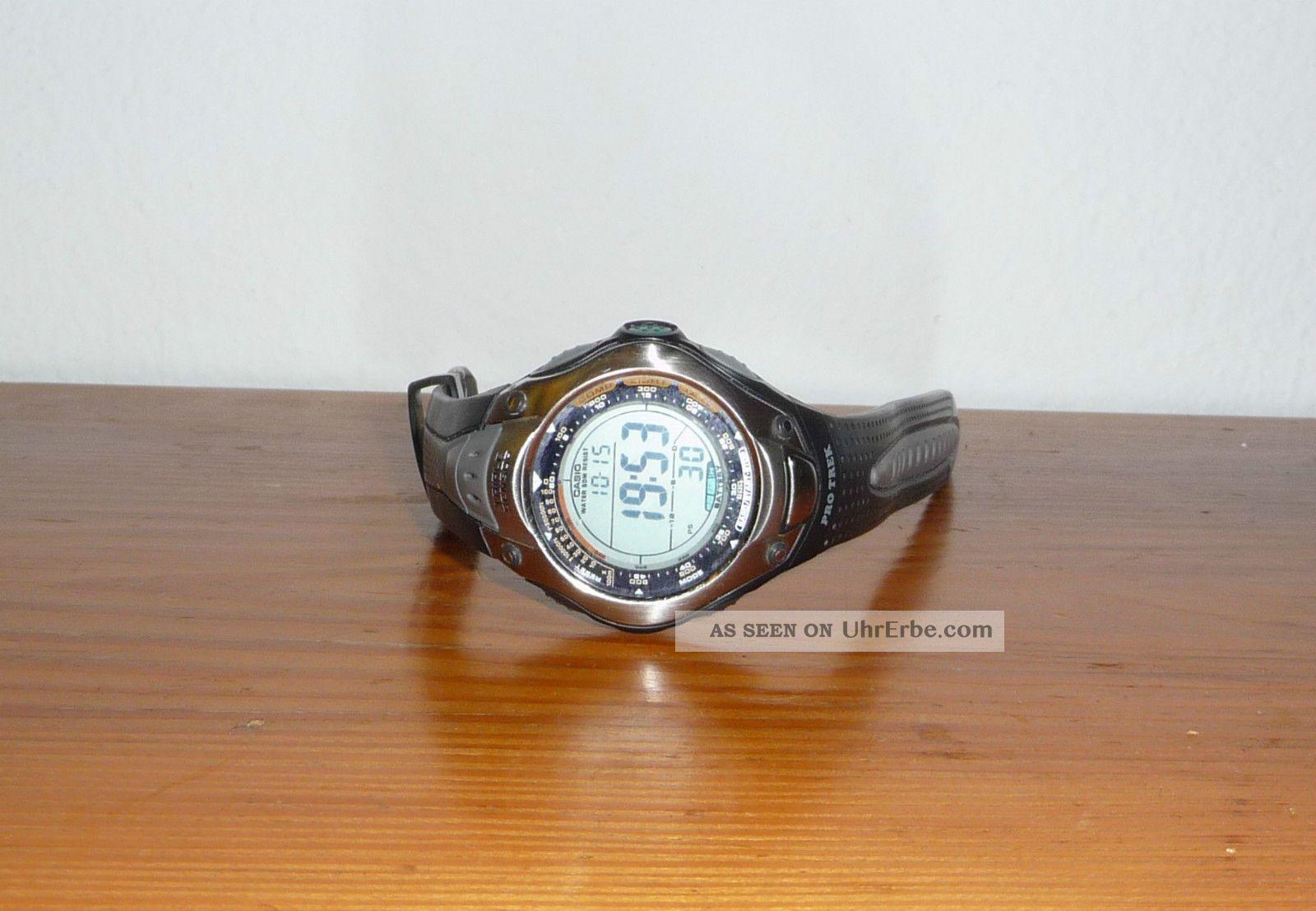 casio pro trek prg 70 sport treking h henmesser kompass. Black Bedroom Furniture Sets. Home Design Ideas