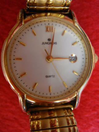 Konvolut 10 Teile Armbanduhren Automatik Batterie Handaufzug & Altes Uhren Band Bild