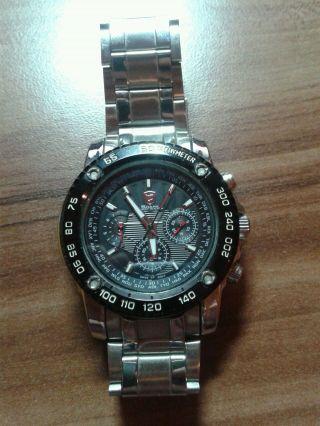 Armbanduhr Edelstahl Bild