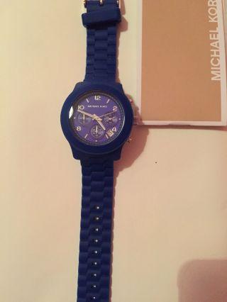 Michael Kors Uhr,  Blau,  Mk - 5293,  Neuwertig Bild