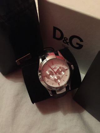 Dolce Und Gabbana Uhr,  Schwarzes Lederband Bild
