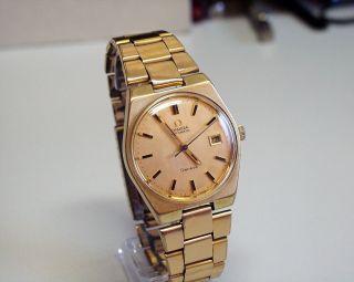 Servicesierte - Omega - Geneve - Herren - Automatic - Uhr Mit Datumsanzeige Bild