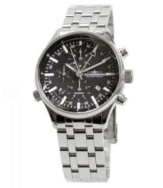 Elitärer Thunderbirds Professional Chronograph 1005 Alarm Uhr Fliegeruhr M.  Box Bild
