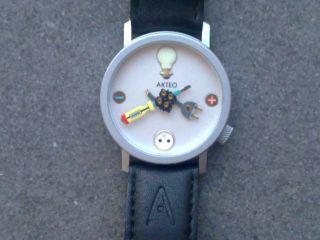 Akteo Herrenuhr Armbanduhr Motto: Elektriker In Topzustand Hier Kaufen Bild