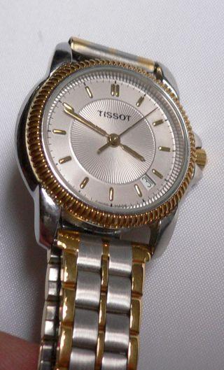 Tissot - Swiss Pack - Damen Armbanduhr Mit Datum,  Edelstahlband Bild