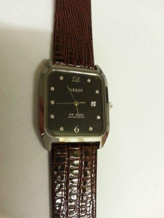 Tissot Pr 1500 Chronometer Rare Vintage Selten Top Erhalten Sammler Aus Sammlung Bild